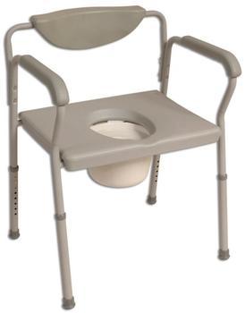 Nottingham Rehab Supplies (NRS) Extra Breit Höhenverstellbar Toilettenstuhl