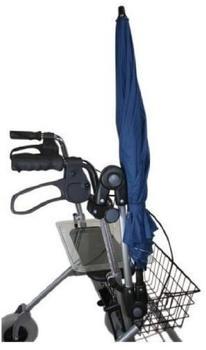 MPB Pieper Rollatorschirm blau