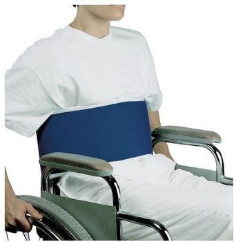 Stock-Fachmann Bauchgurt für Rollstühle, mit Klettverschluss, groß