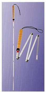 Stock-Fachmann Blindenstock Klappstock 5-teiliger falt-und telesk. (kurz)