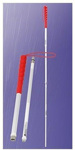 Stock-Fachmann Teleskopierbarer KellererstockBlindenstock zerlegbar Blindentaststock