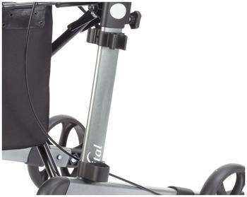 Stock-Fachmann Komfort-Zubehörpaket zum Rollator vital Inhalt: Stockhalter und Rückengurt