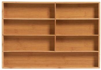 Zeller Besteckkasten Bamboo 44 x 30,6 x 4,3 cm
