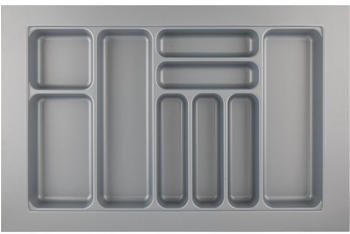 Hettich Besteckkasten Orga Box Atira Orga Tray 440 silbergrau L 800 x B 520 x H 55 mm