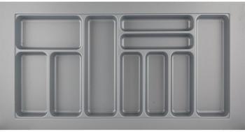 Hettich Besteckkasten Orga Box Atira Orga Tray 440 silbergrau L 1000 x B 520 x H 55 mm