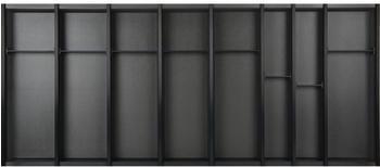 Ninka Cuisio Besteckeinsatz für Tandembox KB 1200 schwarz