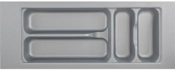 Hettich Besteckkasten Orga Box Atira Orga Tray 440 silbergrau L 520 x B 200 x H 55 mm