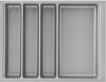 Vasalat Besteckeinsatz Scoop II 366 x 59 x 474 mm / KB 450 mm / KS silberfarbig