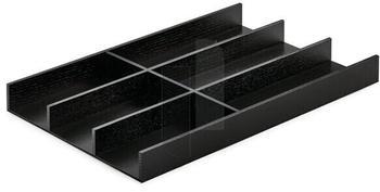 Naber Besteckeinsatz Modify Set 1000 Esche schwarz Massivholz klar lackiert 8035151