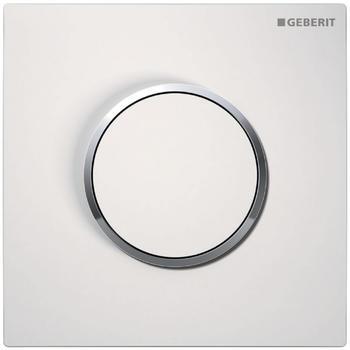 Geberit HyTouch Urinalsteuerung Sigma10 (116.015.KJ.1) weiß / chrom hochglanz