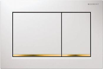 Geberit Omega30 (115.080.KK.1) weiß / vergoldet