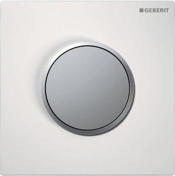 Geberit HyTouch Urinalsteuerung Sigma10 (116.015.KL.1) weiß / chrom matt