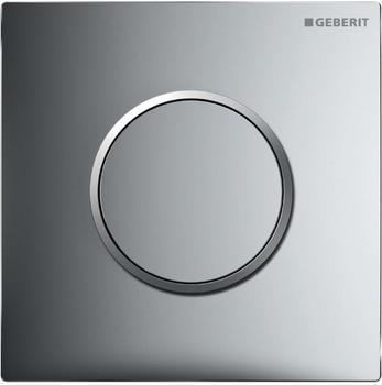 Geberit HyTouch Urinalsteuerung Sigma10 (116.015.KH.1) chrom hochglanz / chrom matt