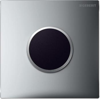 Geberit HyTronic Urinalsteuerung Sigma10 Netz (116.025.KH.1) chrom hochglanz / chrom matt