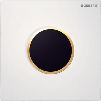 Geberit HyTronic Urinalsteuerung Sigma10 Netz (116.025.KK.1) weiß / vergoldet