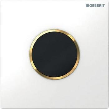 Geberit HyTronic Urinalsteuerung Sigma10 Batterie (116.035.KK.1) weiß / vergoldet