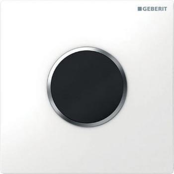 Geberit HyTronic Urinalsteuerung Sigma10 Batterie (116.035.KL.1) weiß / chrom matt