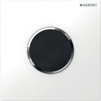 Geberit HyTronic Urinalsteuerung Sigma10 Batterie (116.035.KJ.1) weiß / chrom hochglanz