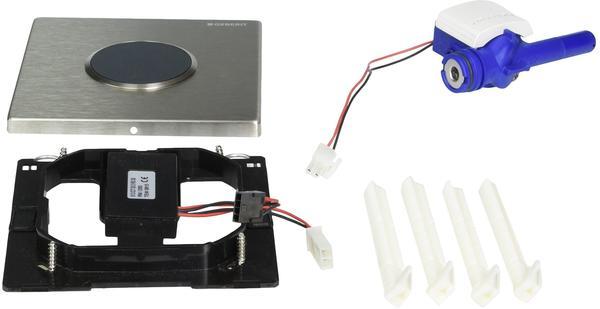 Geberit HyTronic Urinalsteuerung Sigma10 Batterie (116.035.SN.1) Edelstahl gebürstet / Edelstahl poliert