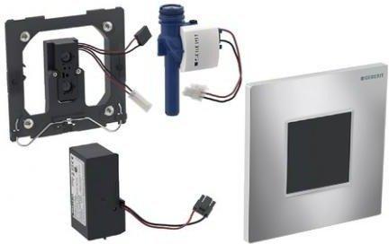 Geberit HyTronic Urinalsteuerung Sigma30 Netz (116.027.KH.1) chrom hochglanz / chrom matt