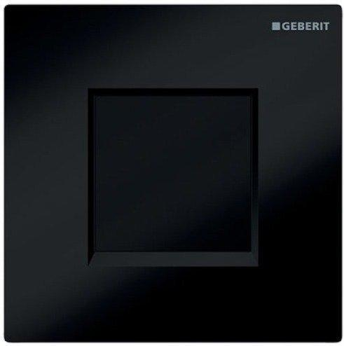 Geberit HyTronic Urinalsteuerung Sigma30 Batterie (116.037.KM.1) schwarz / chrom hochglanz