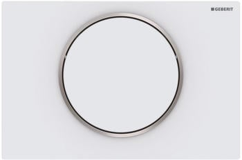 Geberit Sigma10 (115.758.JT.5) weiß matt/poliert