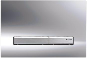 Geberit Sigma 50 Betätigungsplatte für 2-Mengen-Spülung hochglanz-verchromt