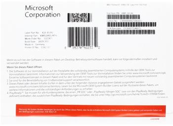 Microsoft Windows 10 Home 64-bit (OEM) (DE) (Box)