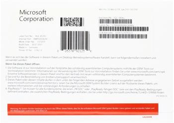Microsoft Windows 10 Pro 32-bit (DE) (Box)
