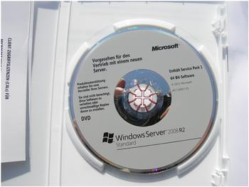 Microsoft Windows Server 2008 Standard R2 SP1 64Bit (5 User) (1-4 CPU) (DE)