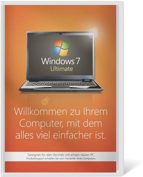 Microsoft Windows 7 Ultimate 32Bit OEM (DE)