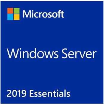 Microsoft Windows Server 2019 Essentials 2 CPU, Server-Software