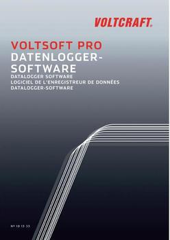 Voltcraft VoltSoft Pro Datenlogger-Software