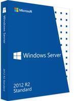 Microsoft Windows Server 2012 Standard R2 64-Bit 5 CALs EN