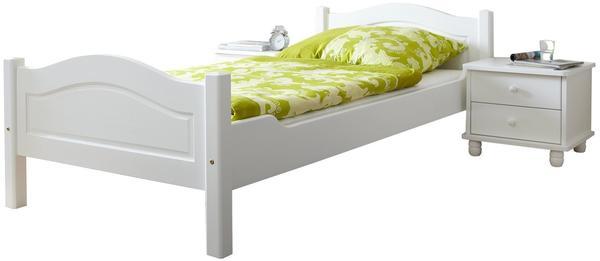 Ticaa Rita Einzelbett 90x200cm weiß