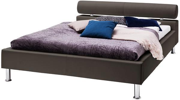 Meise Möbel Anello Polsterbett 140x200cm braun