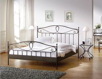 Hasena Romantic Lurano 120x200cm Eisen