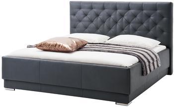 Meise Möbel Pisa 180x200cm schwarz