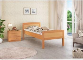 Erst-Holz Buche Seniorenbett 90x200 Massivholz-Bettgestell ohne Zubehör (60.72-09 oR)