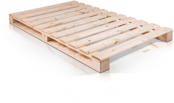 Möbel-Eins PALETTI 120x100cm Fichte natur (AHW0023H)