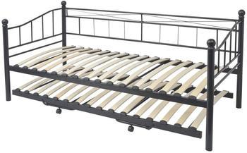 VidaXL Tagesbett 90 x 200 cm schwarz