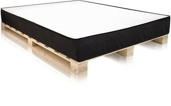 Möbel-Eins PALETTI inkl. MOODY Matratze 180x200cm Fichte natur (AHW0076G)