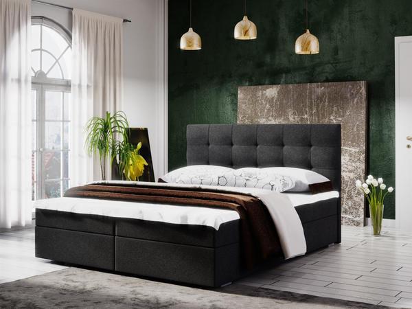 Fun Möbel Kerlon 140x200cm schwarz