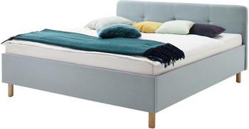 Meise Möbel Amelie 180x200cm eisblau eiche