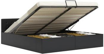 vidaxl-bed-with-hydraulic-storage-in-black-faux-leather-160-x-200-cm