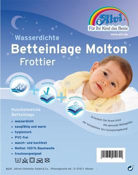 Alvi Betteinlage Molton Frottier 70x140cm