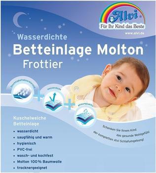 ALVI Betteinlage Molton Frottier 60x120cm