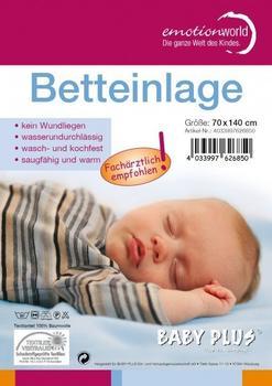 Baby Plus Wasserdichte Betteinlage 50x90cm