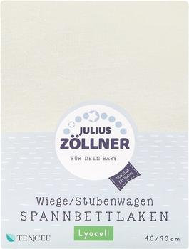 Julius Zöllner Spannbetttuch Jersey 40x90cm ecru