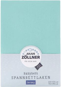 Julius Zöllner Spannbetttuch Jersey 70x140cm - mint